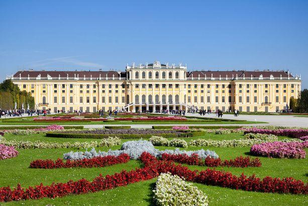 Wien on kaunis kaupunki, joka on täynnä historiaa, kuten tämän Schönbrunnin linna osoittaa.