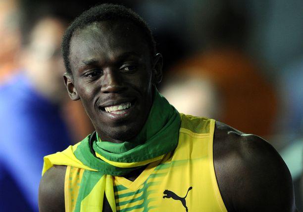 Usain Bolt on maailmanennätysmies 100 ja 200 metrillä.