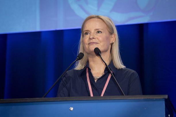 Riikka Purra valittiin lauantaina perussuomalaisten puheenjohtajaksi. Puolueen kenttäaktiiveista 99 prosenttia haluaa perussuomalaiset seuraavaan hallitukseen.