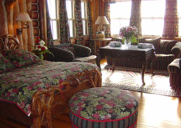 Tämä sviitti on nimeltään rakastavaisten huone.