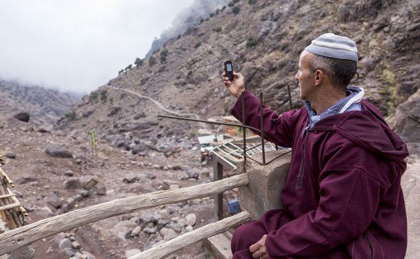 Kuvituskuva. Mies Imlil-kylän lähellä Atlasvuorilla. Kuvan mies ei liity tapaukseen.