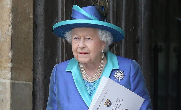 Kuningatar Elisabet tapasi tänään Yhdysvaltojen presidenttiparin Lontoossa.