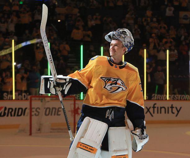 Pekka Rinne pelasi 683 NHL:n runkosarjan ottelua – enemmän kuin kukaan muu suomalainen maalivahti. Nyt on upeiden jäähyväisten aika.