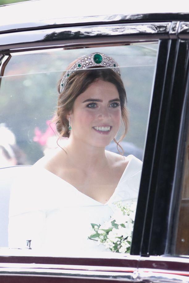 Prinsessa Eugenie menee tänään naimisiin.