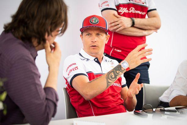 Kimi Räikkönen muistuttaa ihmisiä kuuntelemaan itseään.