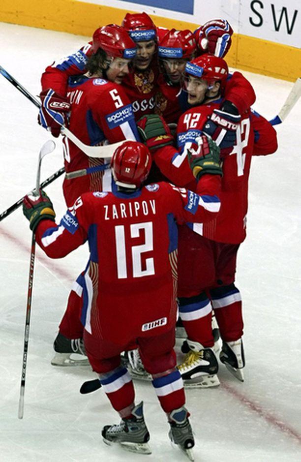 Venäjä sai juhlansa, mutta Suomi oli urhea kakkonen.