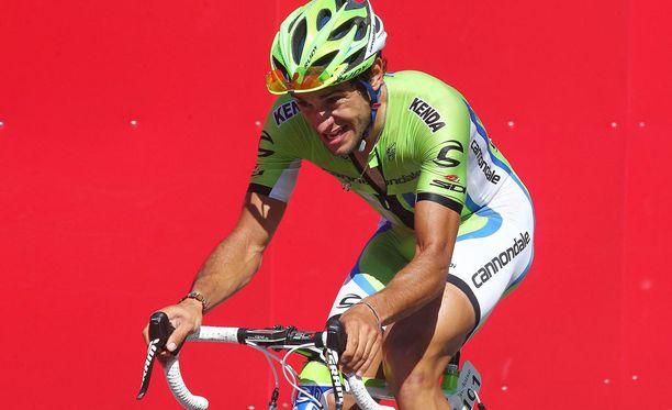 Huippupyöräilijä Stefano Agostini jäi kiinni dopingista syksyllä 2013.