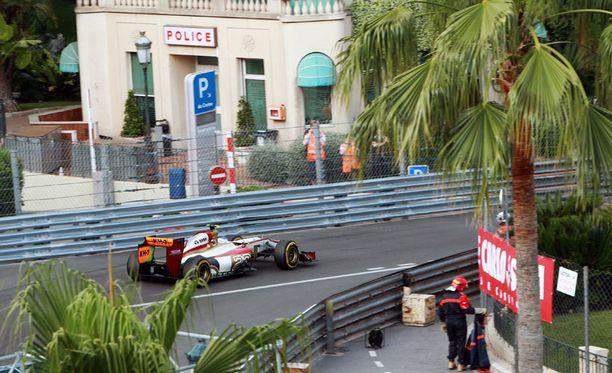 Monacossa harvinainen pommiuhka.