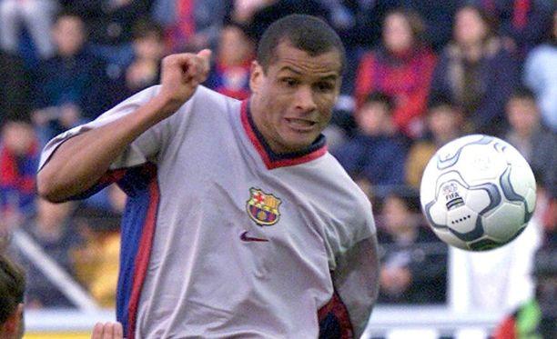 Rivaldo suoritti suurimmat mainetekonsa Barcelonan paidassa.