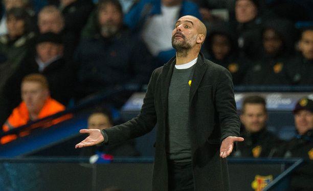 Tiistain vetovihje uskoo, että Pep Guardiola ja Manchester City juhlivat Mestarien liigan voittoa.