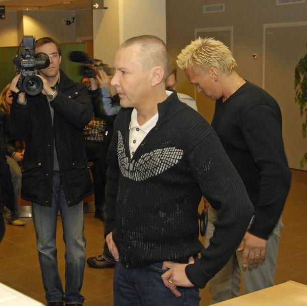 Oikeussalit tulivat Matin elämän vaikeammassa vaiheessa miehelle tutuksi. Kuva vuodelta 2006.