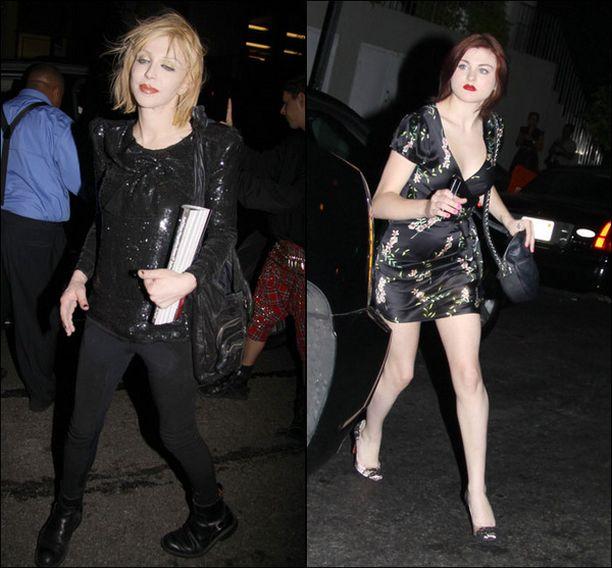 Syyskuussa äiti ja tytär kävivät Marc Jacobsin muotinäytöksessä.