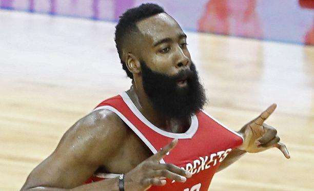 James Hardenin Houston Rockets on yksi mestarisuosikeista.