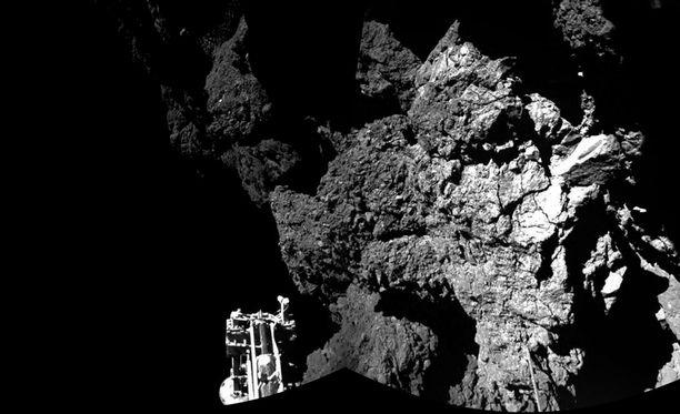 Philae laskeutui komeetan pinnalle viime viikolla.
