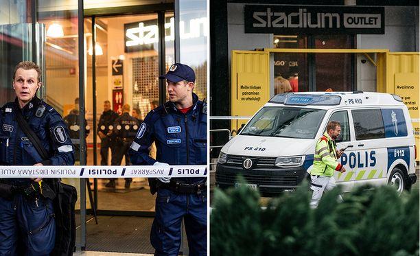 Poliisi sai kouluhyökkäyksestä ilmoituksen tiistaina 1. lokakuuta alkuiltapäivästä.