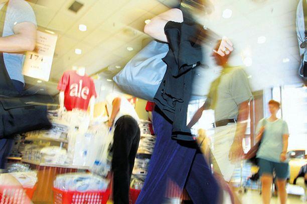 Shoppailusta voi tulla ongelma sekä miehelle että naiselle.