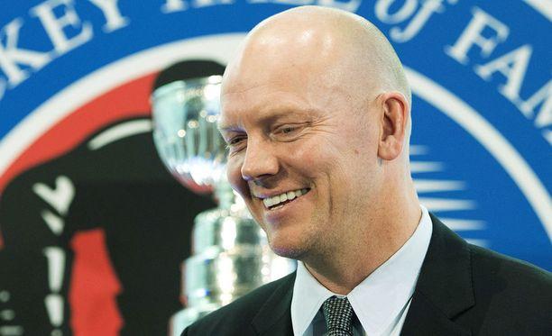 Mats Sundin valittiin jääkiekon Hall of Fameen vuonna 2012.