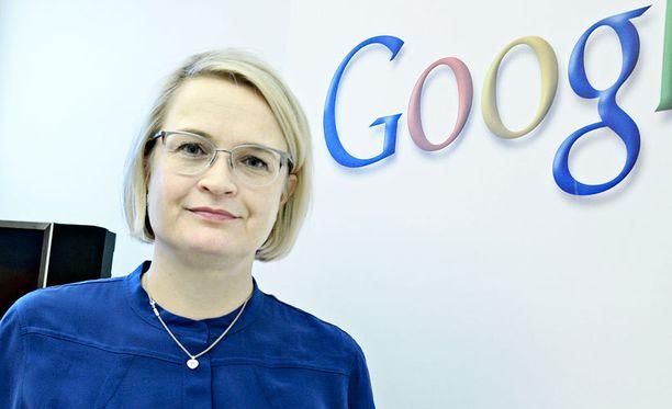 Anni Ronkainen on Googlen maajohtaja.