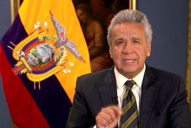 Ecuadorin presidentti Lenin Moreno ilmoitti, että häneltä meni lopulta hermot Assangen kanssa.