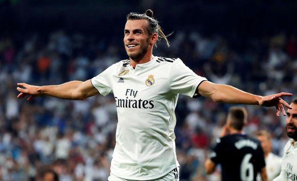 Gareth Bale on aloittanut kauden mainiosti Real Madridin hyökkäyksessä.