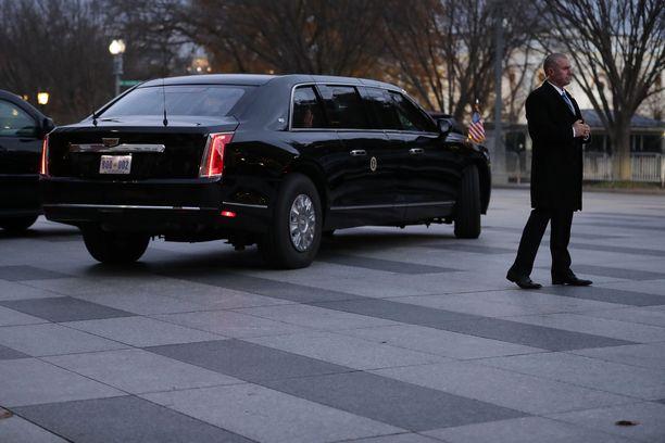 Yhdysvaltain presidentti Donald Trump ei vaikuta kävelevän lyhyitäkään matkoja, kertoo Washington Post.