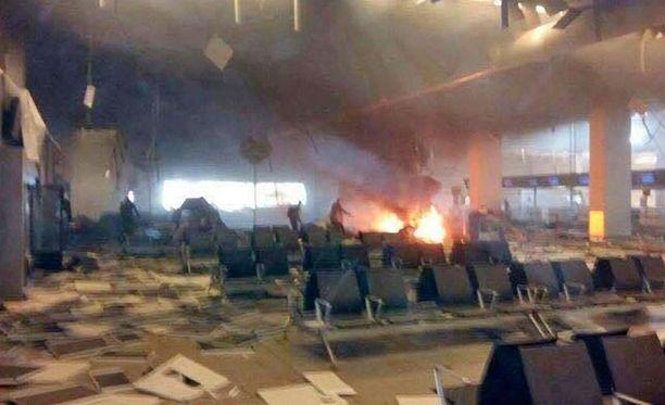 Brysselin iskuissa loukkaantui kolme suomalaista, kaksi Zaventemin lentokentällä ja yksi metroasemalla.