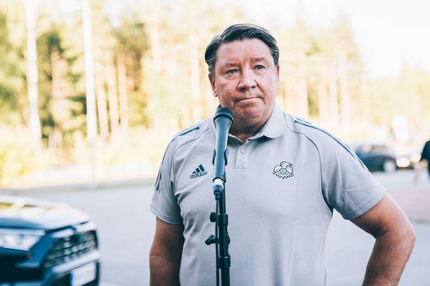 Jari Kurri osti Jokerit keväällä 2019.