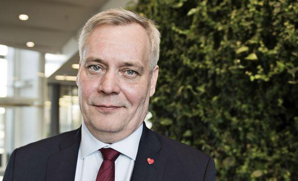 SPD:n puheenjohtajaa Antti Rinnettä kuultiin maanantaina todistajana Kittilä-käräjillä. Arkistokuva.