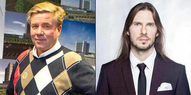 Iisakki Kiemunki (kuvassa oikealla) istui aiemmin Hämeenlinnan kaupungin edustajana liikemies Markku Ritaluoman ja kumppaneiden kanssa Sunny Car Centerin hallituksessa. Ritaluoma välttyi kunnianloukkaussyytteeltä.