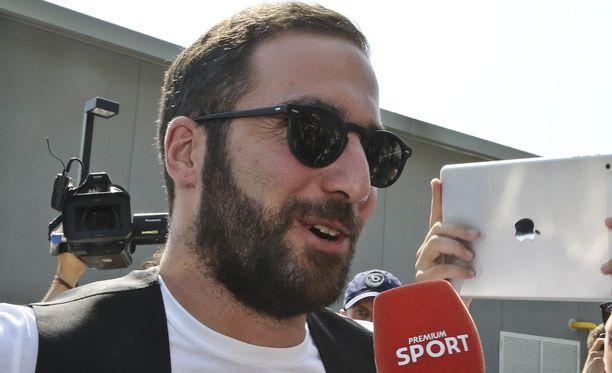 Gonzalo Higuain on nyt Juventuksen mies.