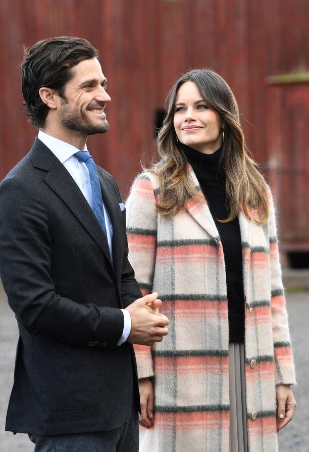 Prinssi Carl Philipin ja prinsessa Sofian kolmas poika on saanut nimensä.