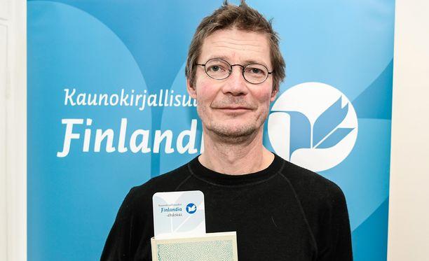 Juha Hurme voitti kaunokirjallisuuden Finlandia-palkinnon.