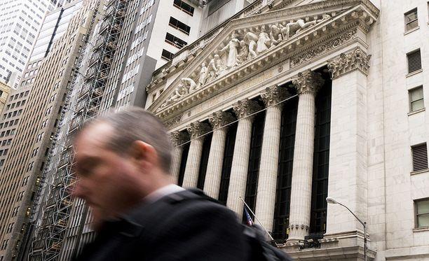 Ahkera myynti jatkui Yhdysvaltain pörssissä torstaina.