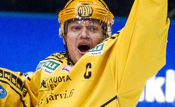 Sami Kapanen iski kaksi maalia.