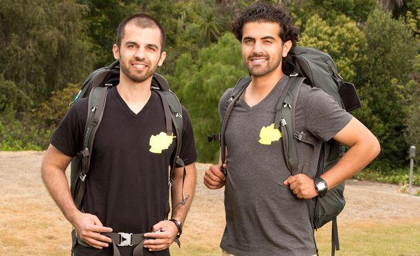 Leo ja Jamal tunnetaan Amazing Race -piireissä Afghanimalseina.