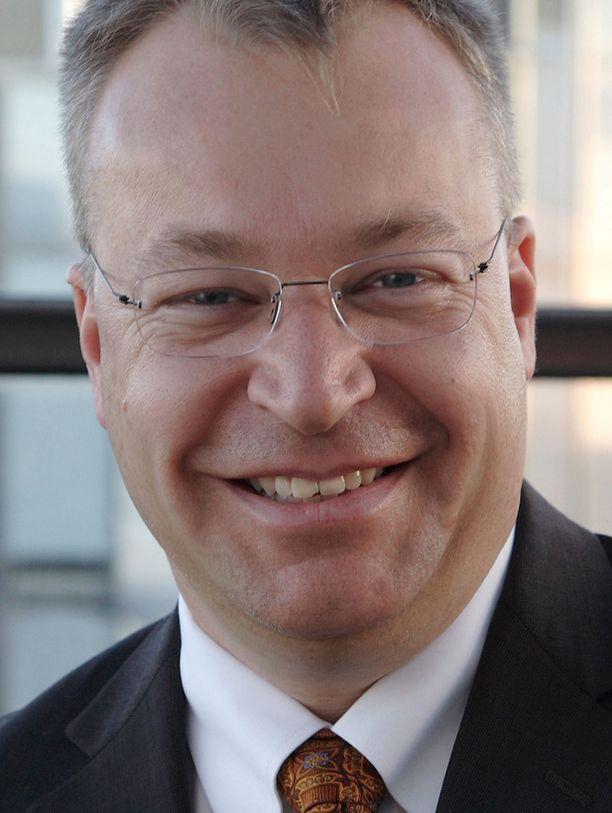 Stephen Elop siirtyy Nokialle Microsoftilta.