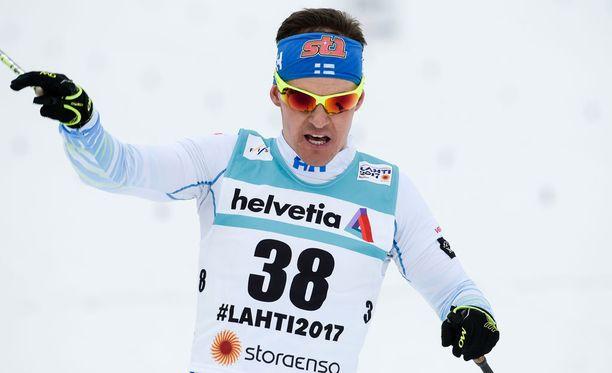 35-vuotias Sami Jauhojärvi ei ole vielä päättänyt, mitä hän aikoo tulevaisuudessa tehdä.
