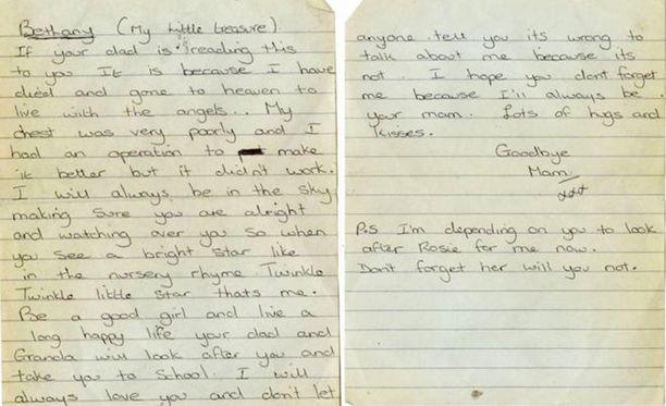 Kirje löytyi antikvaariseen kirjakauppaan jätettyjen kirjojen välistä.