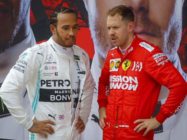 Ferrarin Sebastian Vettel on halunnut voittaa Mercedeksen Lewis Hamiltonin MM-taistelussa jo vuosien ajan, mutta britti on vetänyt kerta toisensa jälkeen pidemmän korren.