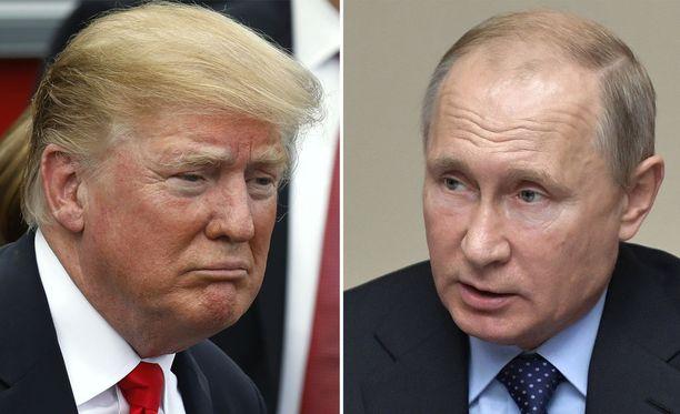 Presidentit Donald Trump ja Vladimir Putin tapaavat 16. heinäkuuta Helsingissä.