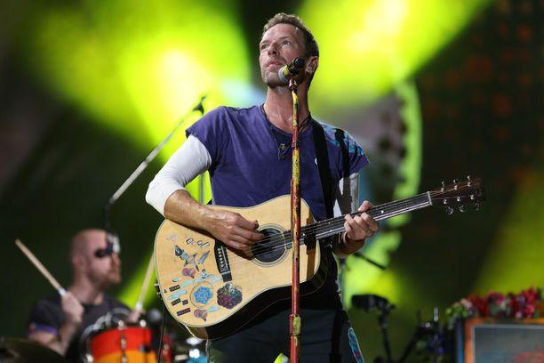 Coldplayn nimi ei ole Chris Martinin käsialaa.