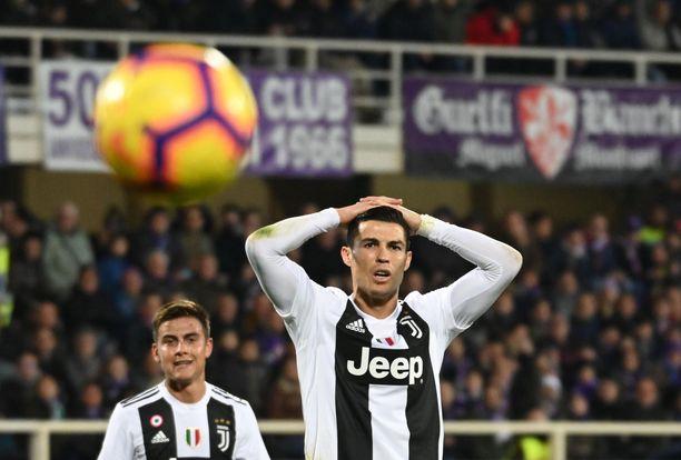 Cristiano Ronaldon pilkkukalastelut eivät menneet läpi.