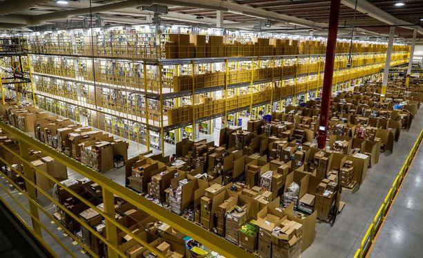 Amazon on maailman suurin vähittäiskauppias.