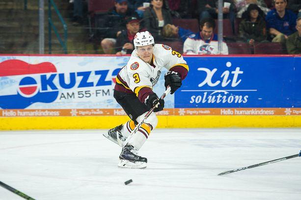 Teemu Pulkkinen on AHL:n suomalaisia kärkinimiä. Hän pelaa Chicago Wolvesissa, Vegasin farmissa.