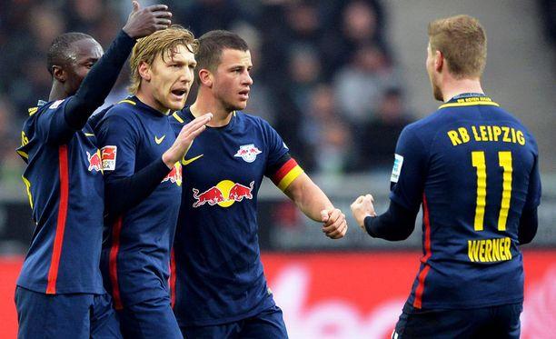 RB Leipzig hyväksyttiin mukaan Mestarien liigaan.