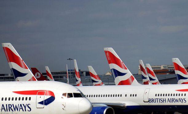 Muun muassa British Airways kuului kartelliin.