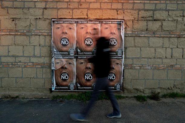 Kansanäänestys ratkaiseen pääministeri Renzin jatkon.