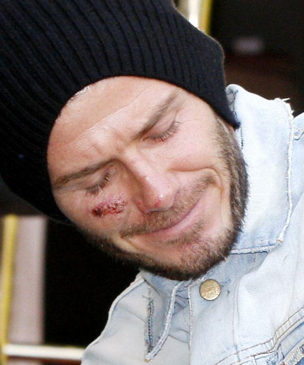 David Beckham viettää Turussa ainakin ensi yön.