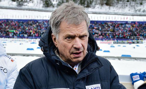 Sauli Niinistö vaikuttui Matti Heikkisen suorituksesta.