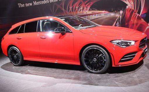 Pikkufarkku maistuu vieläkin makeammalta: Mercedes venytti pienen Shooting Brake -mallinsa aiempaa muhkeammaksi